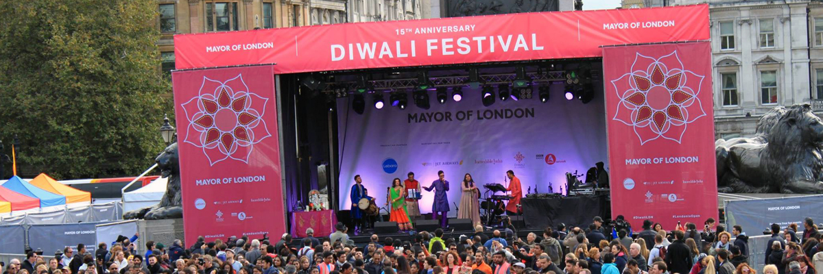Diwali in London Stage